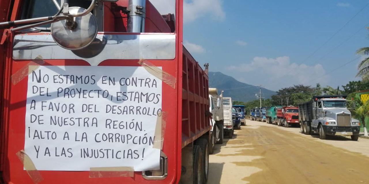 Transportistas de Salina Cruz exigen mejorar tabulador | El Imparcial de Oaxaca