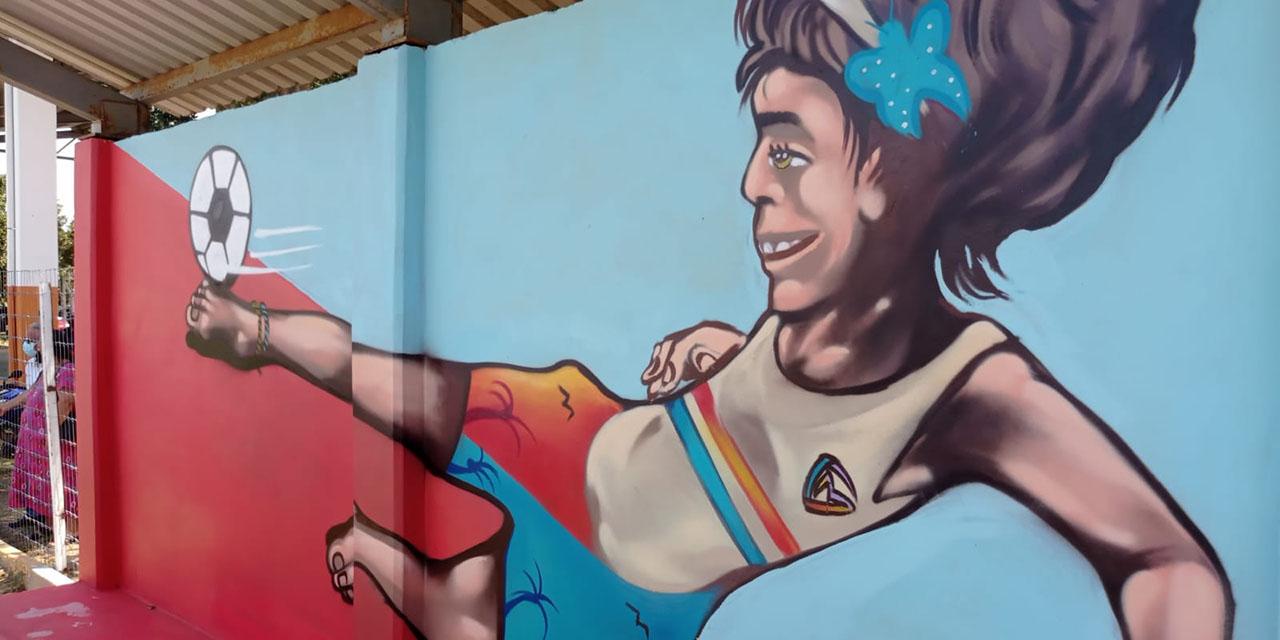 Inauguran murales que buscan promover el deporte y la cultura en la Costa de Oaxaca   El Imparcial de Oaxaca