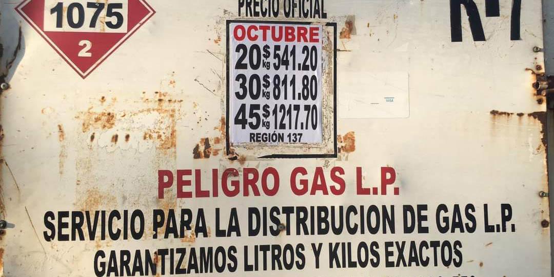 Sin control,  precios de Gas  LP en Pinotepa   El Imparcial de Oaxaca