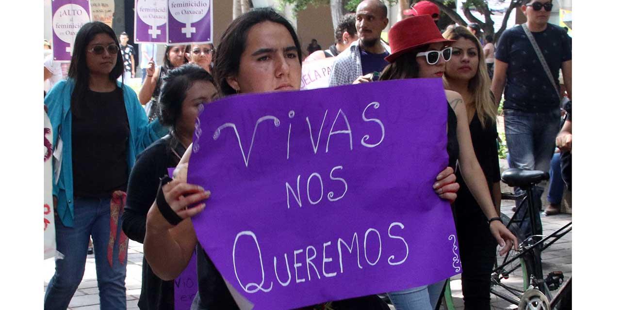 Condena Consorcio ola de feminicidios   El Imparcial de Oaxaca
