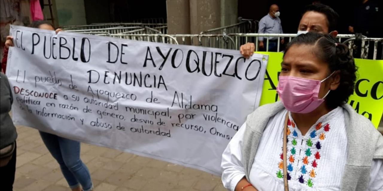 Impune, violencia política contra regidoras de Ayoquezco | El Imparcial de Oaxaca