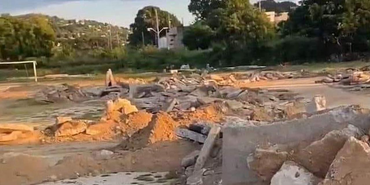 Se oponen a demolición de campo deportivo en Salina Cruz | El Imparcial de Oaxaca