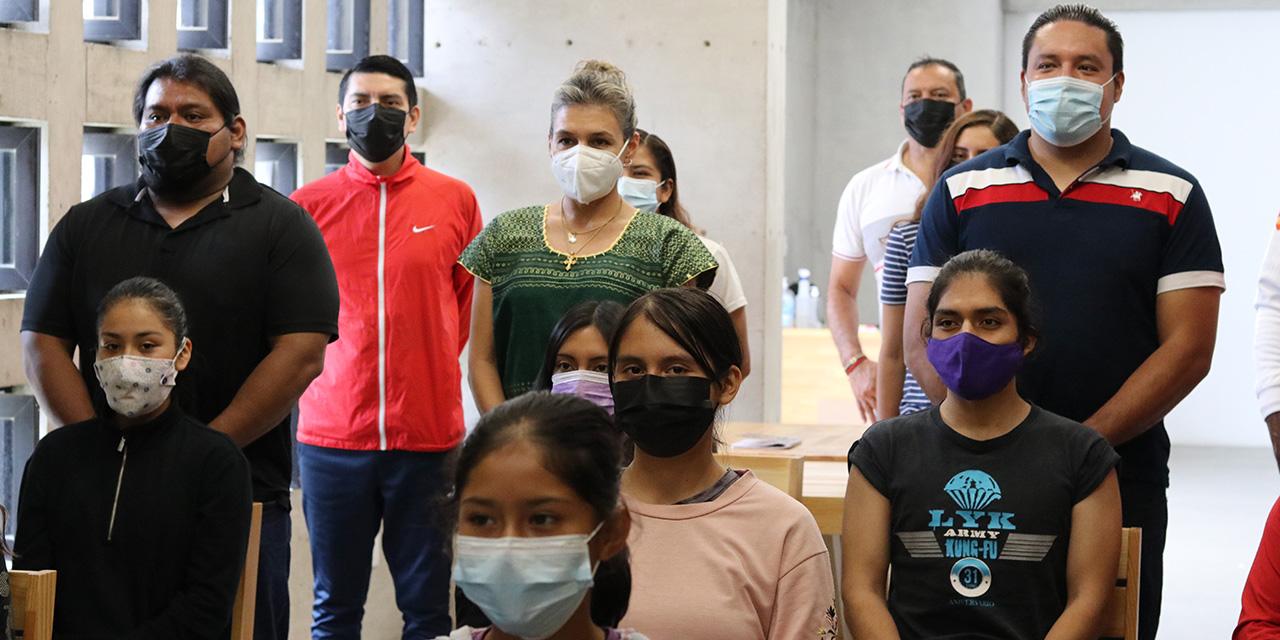 Los visten para Juegos Populares   El Imparcial de Oaxaca