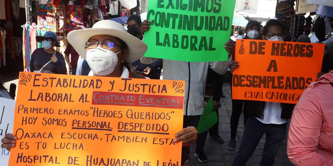 Sección 35: corrupción, tráfico de plazas y falsificación de bases   El Imparcial de Oaxaca