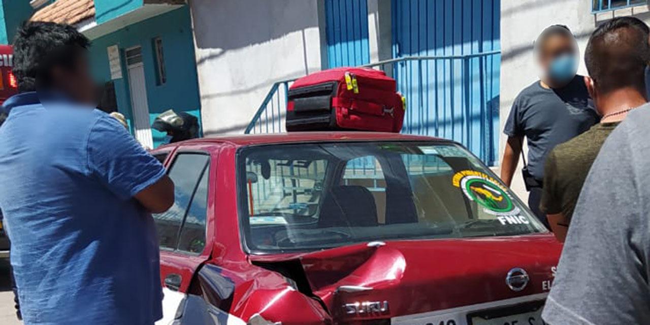 Daños y lesionados deja un accidente en La Mixteca   El Imparcial de Oaxaca