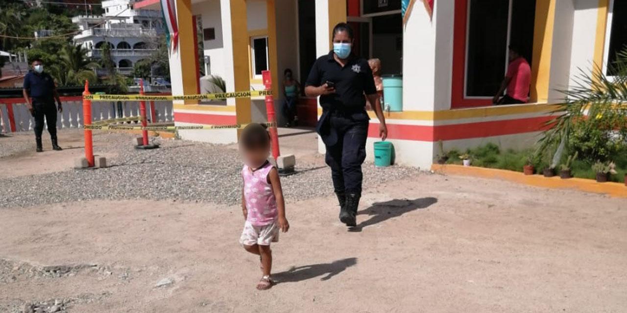 Recuperan a niña extraviada en andador de Puerto Escondido   El Imparcial de Oaxaca