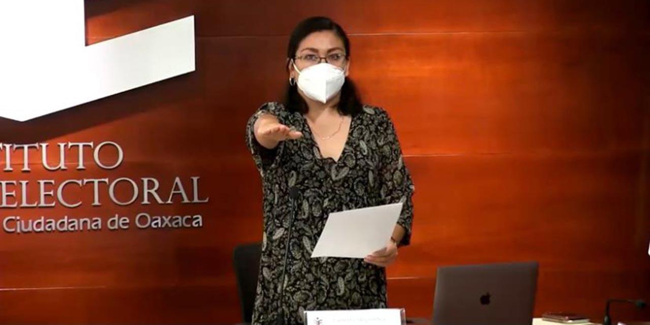 Asume el cargo de presidenta provisional del IEEPCO | El Imparcial de Oaxaca