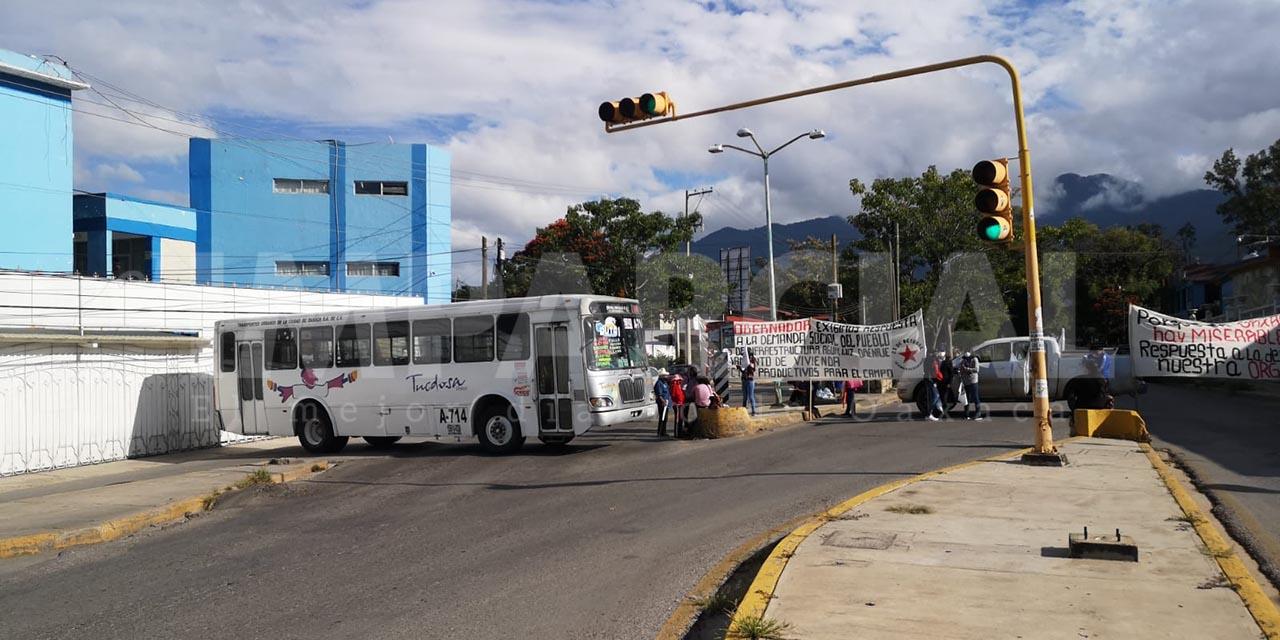 Inicio de semana caótica en la capital oaxaqueña | El Imparcial de Oaxaca