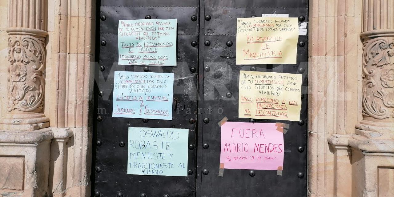 Continúa el descontento por el Gobierno Municipal de Oaxaca de Juárez   El Imparcial de Oaxaca