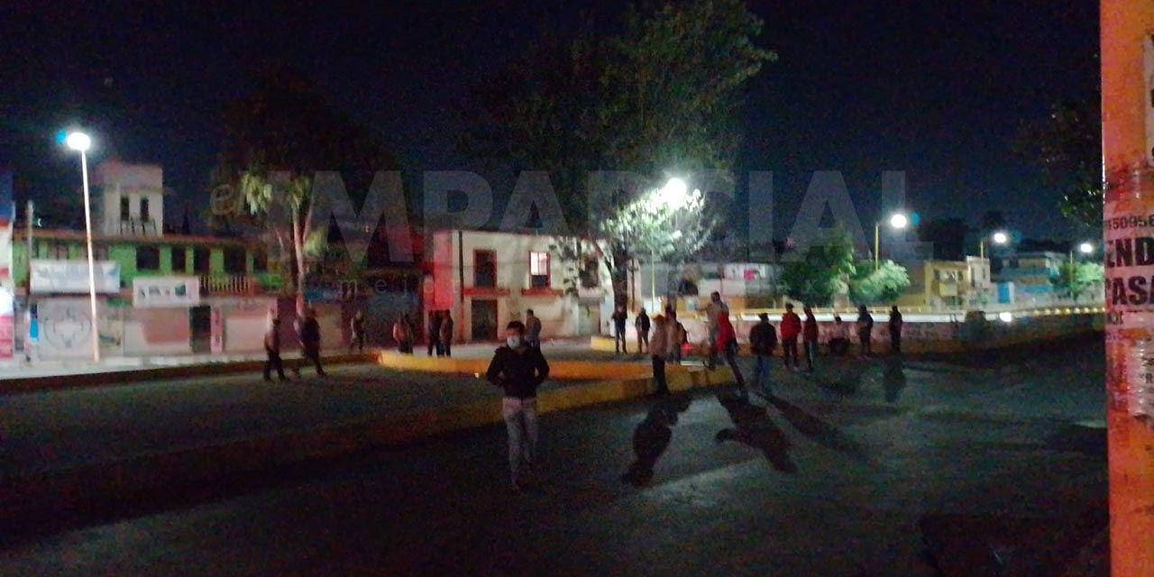 Bloqueos activos en Oaxaca