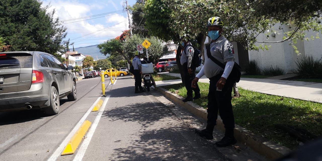 Implementan operativo en la nueva ciclovía   El Imparcial de Oaxaca