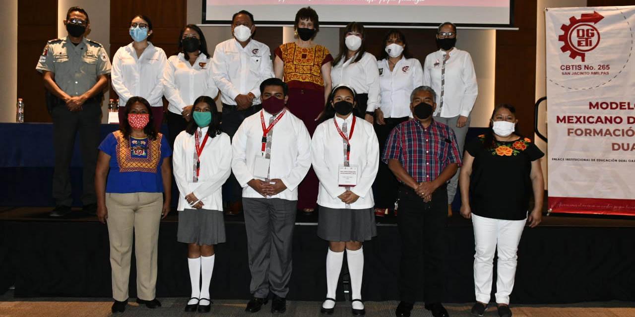 Cbtis 265 fomenta la educación dual para sus estudiantes | El Imparcial de Oaxaca
