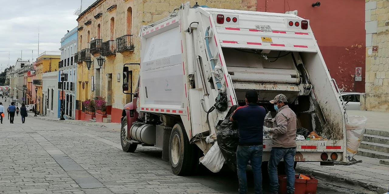 Tras reanudación del servicio de recolección de basura, el centro de la capital amanece limpio   El Imparcial de Oaxaca