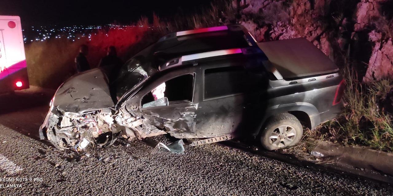 Violento choque en la carretera Oaxaca-Puerto Ángel   El Imparcial de Oaxaca