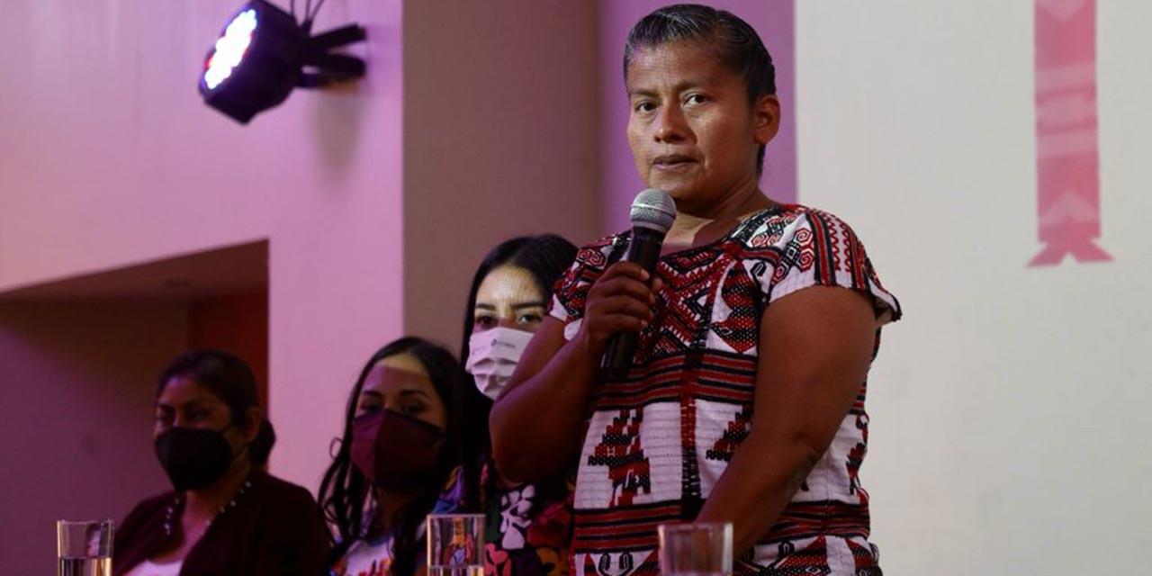 Reitera Irma Juan Carlos que buscará la candidatura de Morena | El Imparcial de Oaxaca