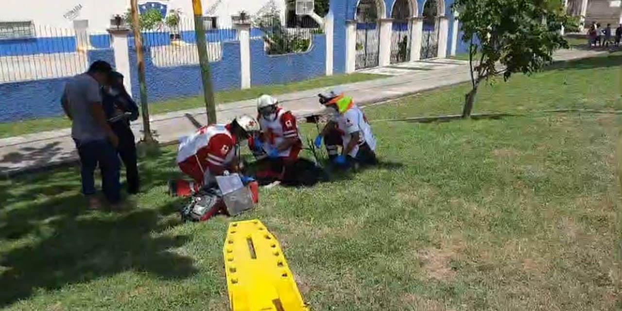 Choque en Tehuantepec deja un menor lesionado   El Imparcial de Oaxaca