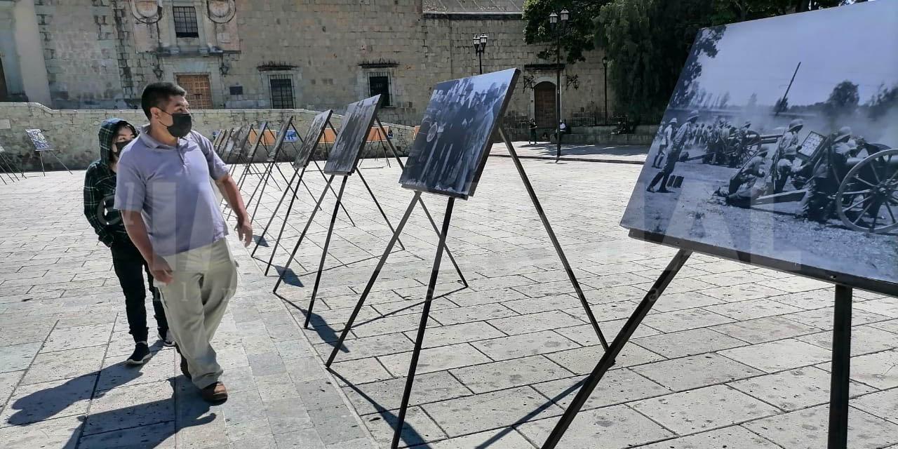 Presentan exposición conmemorativa de los 200 años del Ejército Mexicano   El Imparcial de Oaxaca