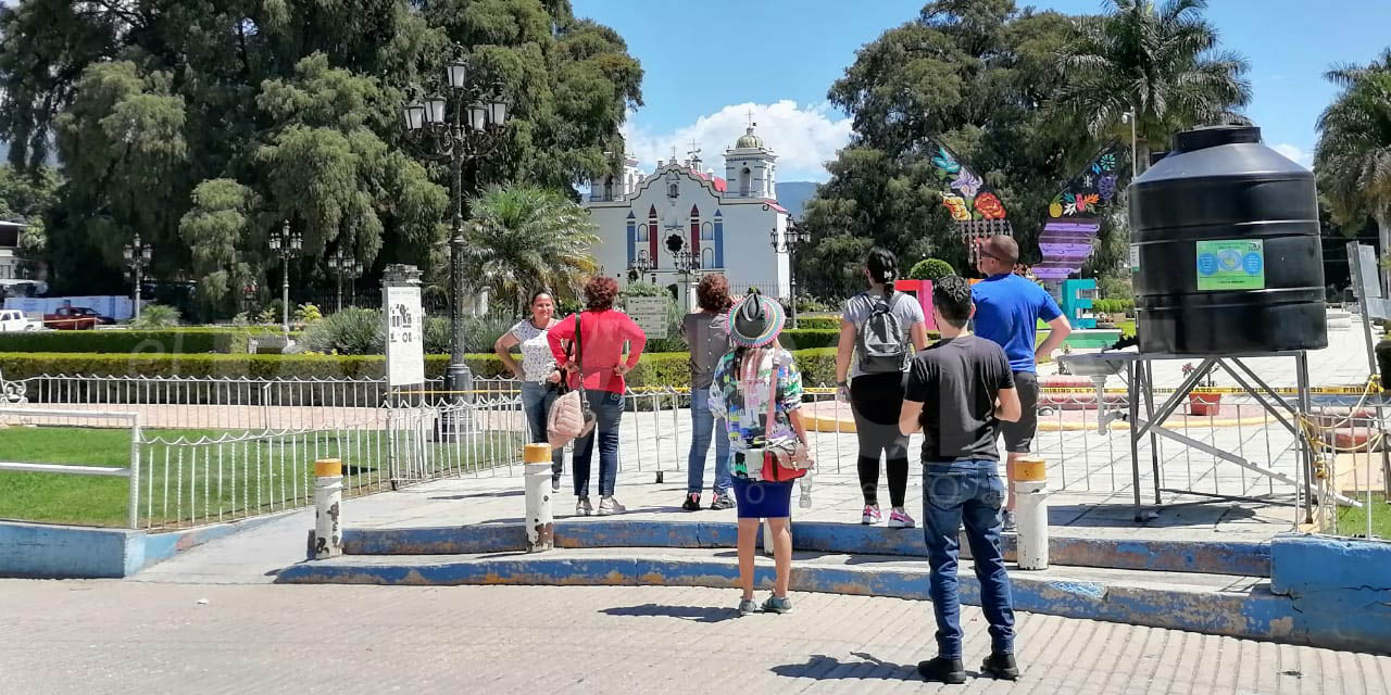 Cierre de acceso al Árbol del Tule genera decepción de turistas   El Imparcial de Oaxaca