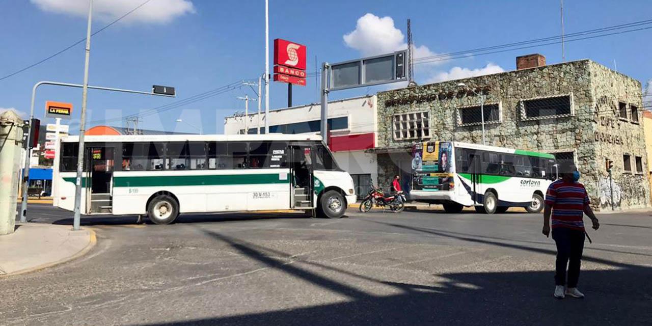 Bloqueos activos en la ciudad capital | El Imparcial de Oaxaca