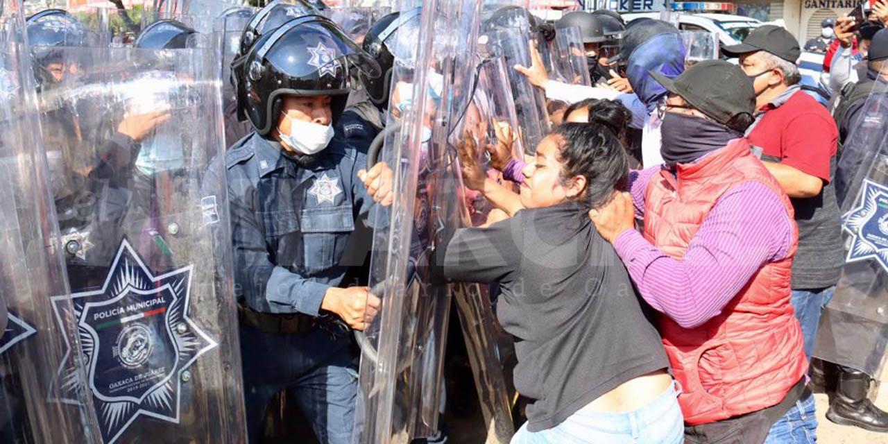 Suspenden eventos de Murat tras zafarrancho en el mercado de Abasto   El Imparcial de Oaxaca
