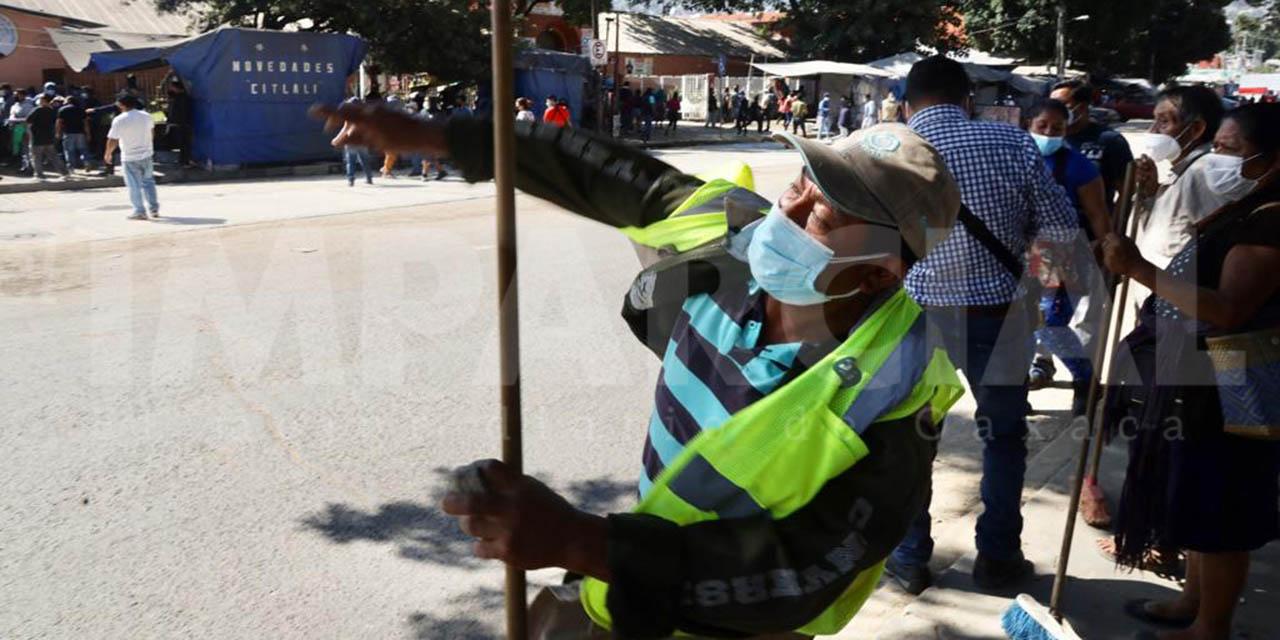 Huevazos y no balazos: Comerciantes de la Central de Abasto | El Imparcial de Oaxaca