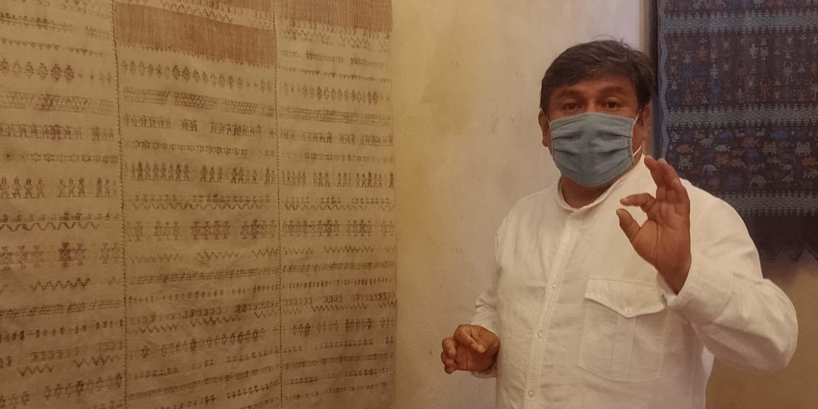 Remigio Mestas Revilla, expuso la importancia de la preservación del textil de Oaxaca   El Imparcial de Oaxaca