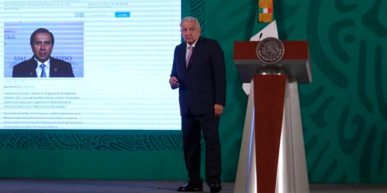 """""""Israel no puede ser refugio de torturadores"""": AMLO tras pedir extradición de Tomás Zerón   El Imparcial de Oaxaca"""