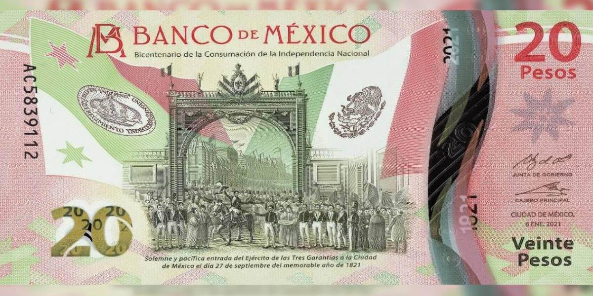 Billetes nuevos de veinte pesos lo venden hasta en $1,200, ¿tú lo comprarías? | El Imparcial de Oaxaca