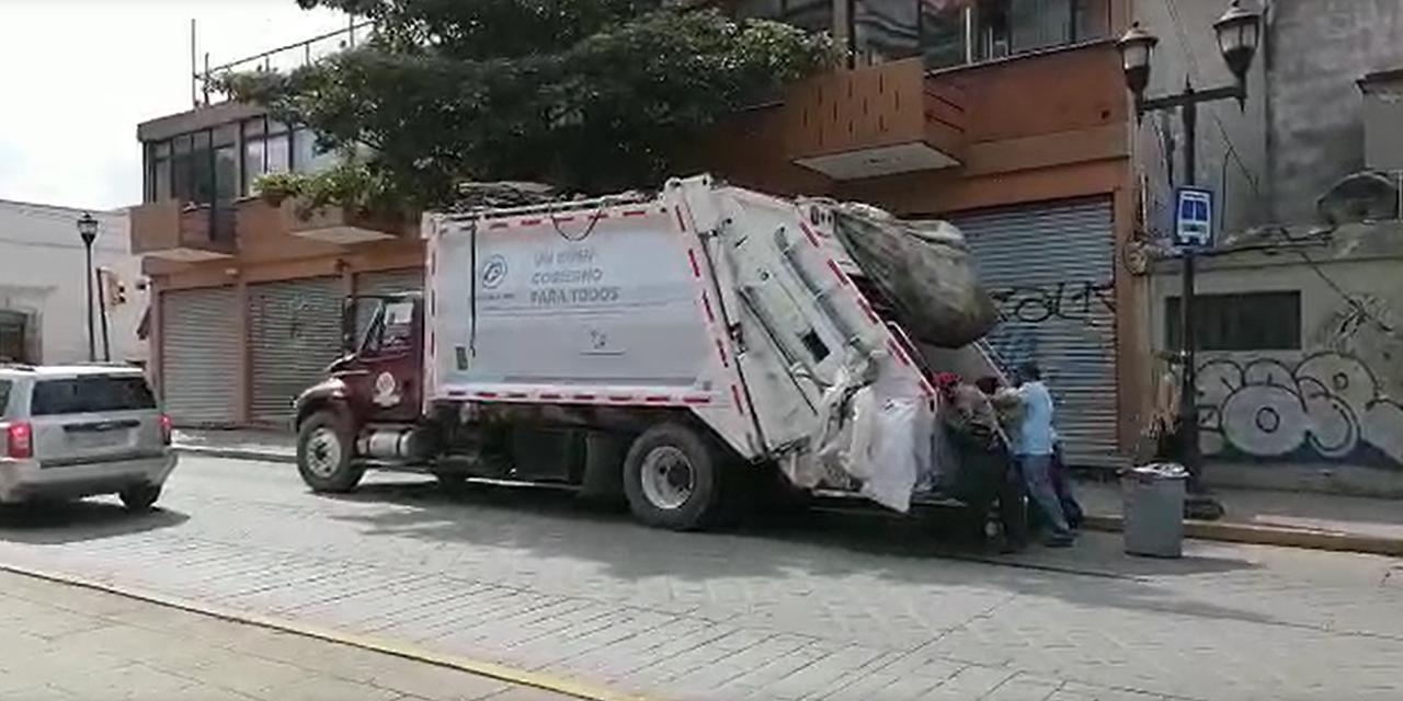 Reanudan servicio de recolección de basura en la capital oaxaqueña | El Imparcial de Oaxaca