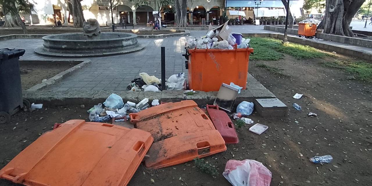 Adelantó Sefin 20 mdp a García Jarquín desde el fin de semana, para resolver el tema de basura°   El Imparcial de Oaxaca