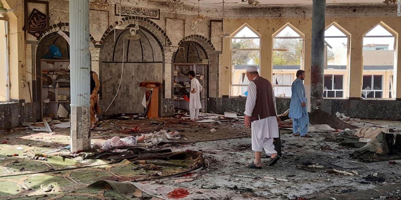 Explosión en mezquita de Afganistán deja al menos 100 muertos | El Imparcial de Oaxaca