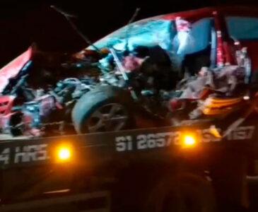 VIDEO: Fuerte accidente sobre riberas del Río del Atoyac