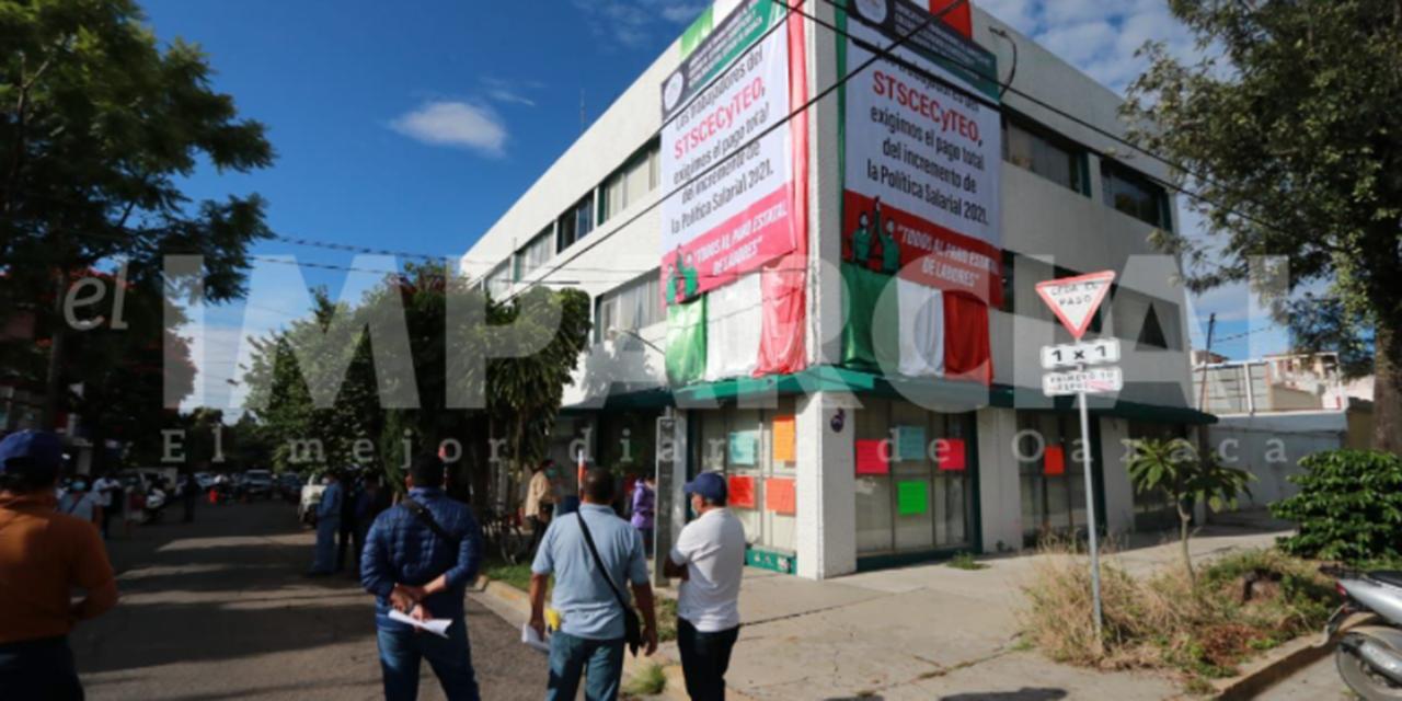 Trabajadores del CECyTE de Oaxaca en paro de 48 horas   El Imparcial de Oaxaca