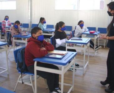 80 escuelas de la Sección 59 en clases presenciales