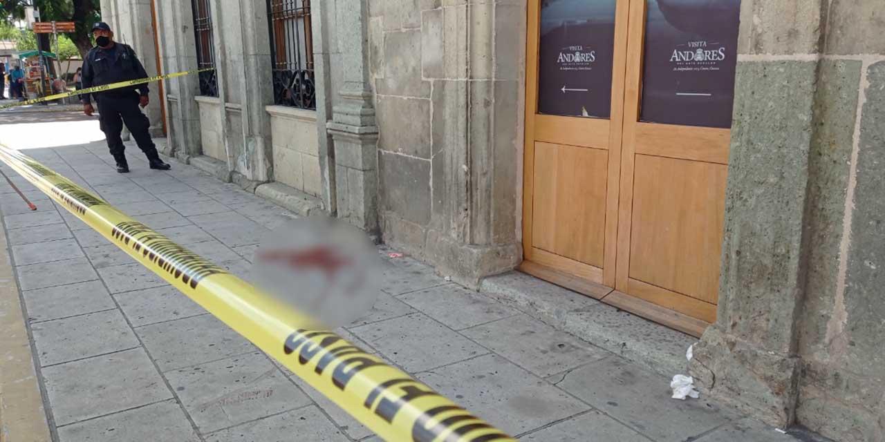 Asalto sangriento en el Centro Histórico de Oaxaca   El Imparcial de Oaxaca
