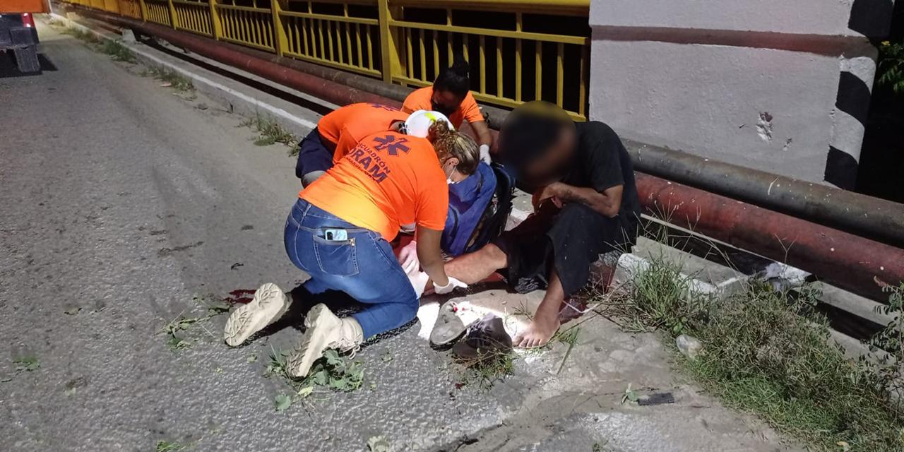 Ebrio motociclista derrapa en Río Grande   El Imparcial de Oaxaca