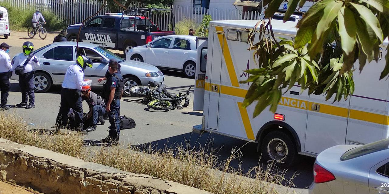 Motociclista se accidenta de gravedad en Xoxocotlán   El Imparcial de Oaxaca