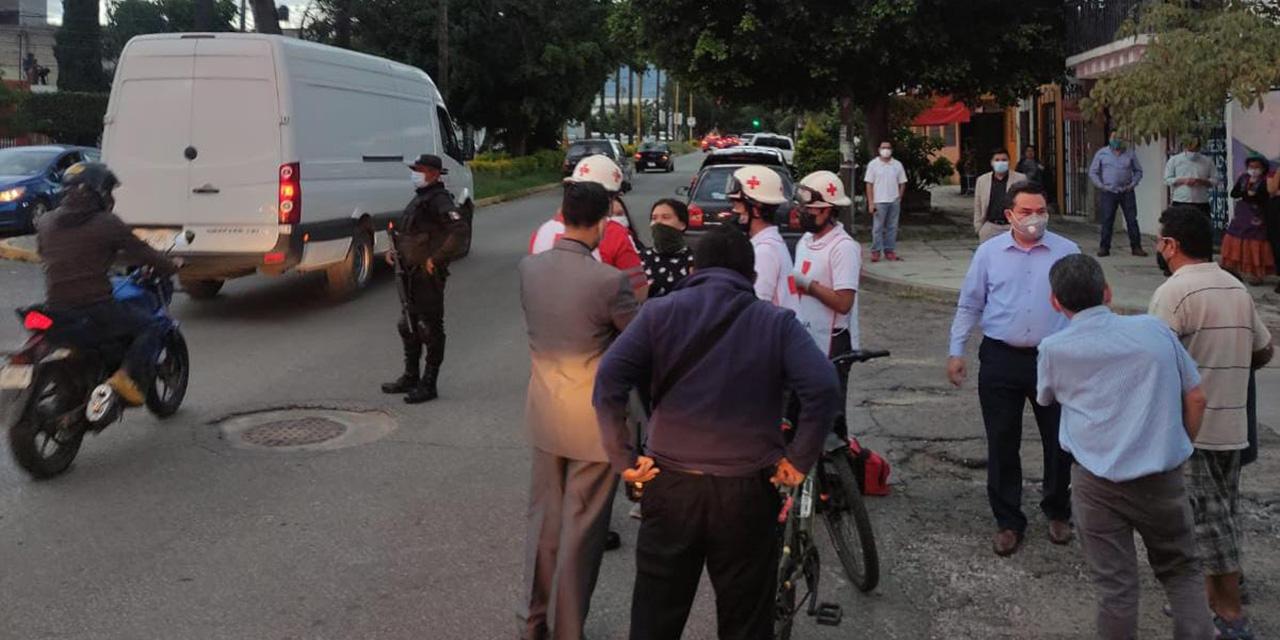 Embisten a una ciclista en la Colonia Reforma | El Imparcial de Oaxaca