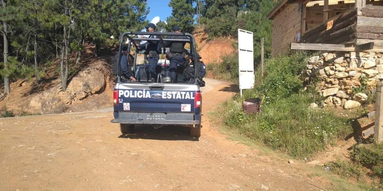 Despliegue policiaco por balacera en La Mixteca   El Imparcial de Oaxaca