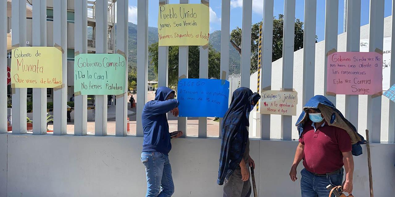 Acusan a Manuel Pérez Morales de saquear Hierve el Agua   El Imparcial de Oaxaca