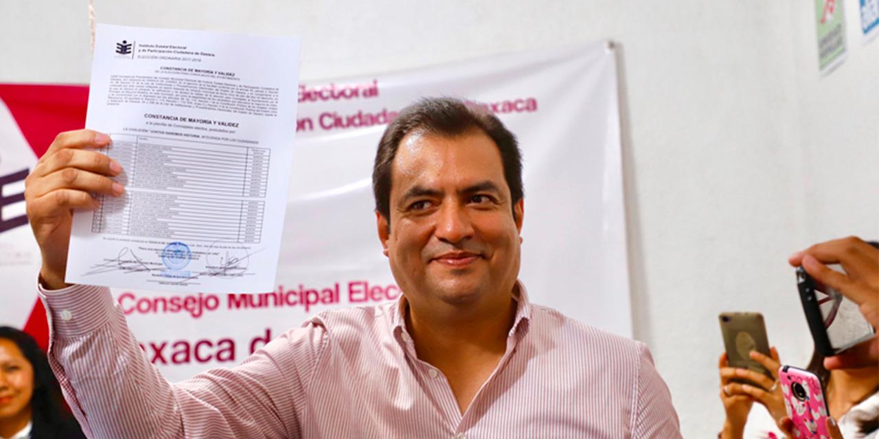 García Jarquin, candidato de Morena a la gubernatura   El Imparcial de Oaxaca