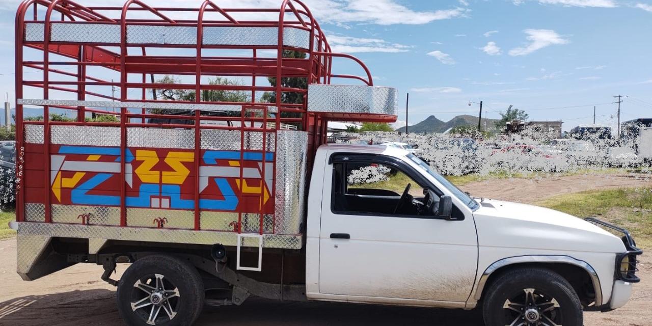 Cae con camioneta robada en Tlacolula | El Imparcial de Oaxaca