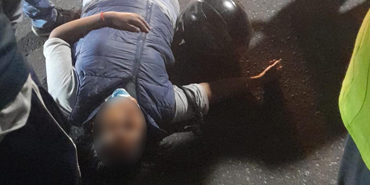 Choque entre motociclistas en el Centro de Oaxaca | El Imparcial de Oaxaca
