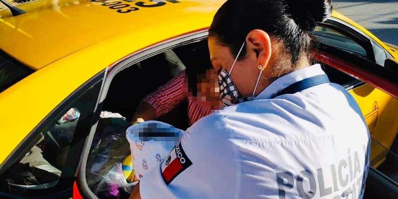 Mujer da a luz en taxi en Avenida Ferrocarril | El Imparcial de Oaxaca