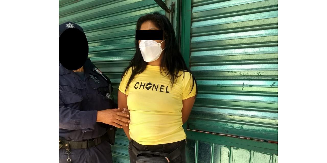 Cae por presunto robo   El Imparcial de Oaxaca