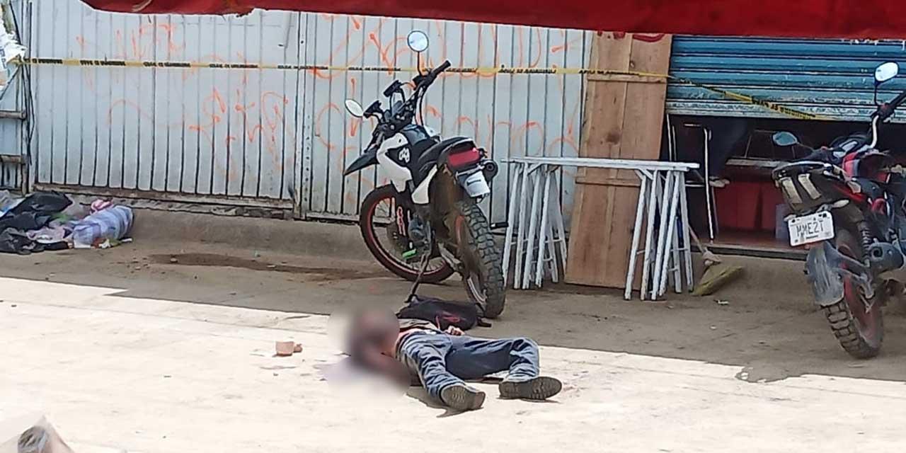 Abaten a agresivo sujeto armado con motosierra en la Central de Abasto | El Imparcial de Oaxaca