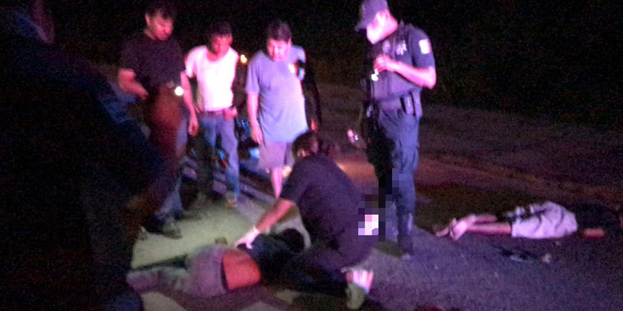 Fatal encontronazo en Villa de Tututepec | El Imparcial de Oaxaca
