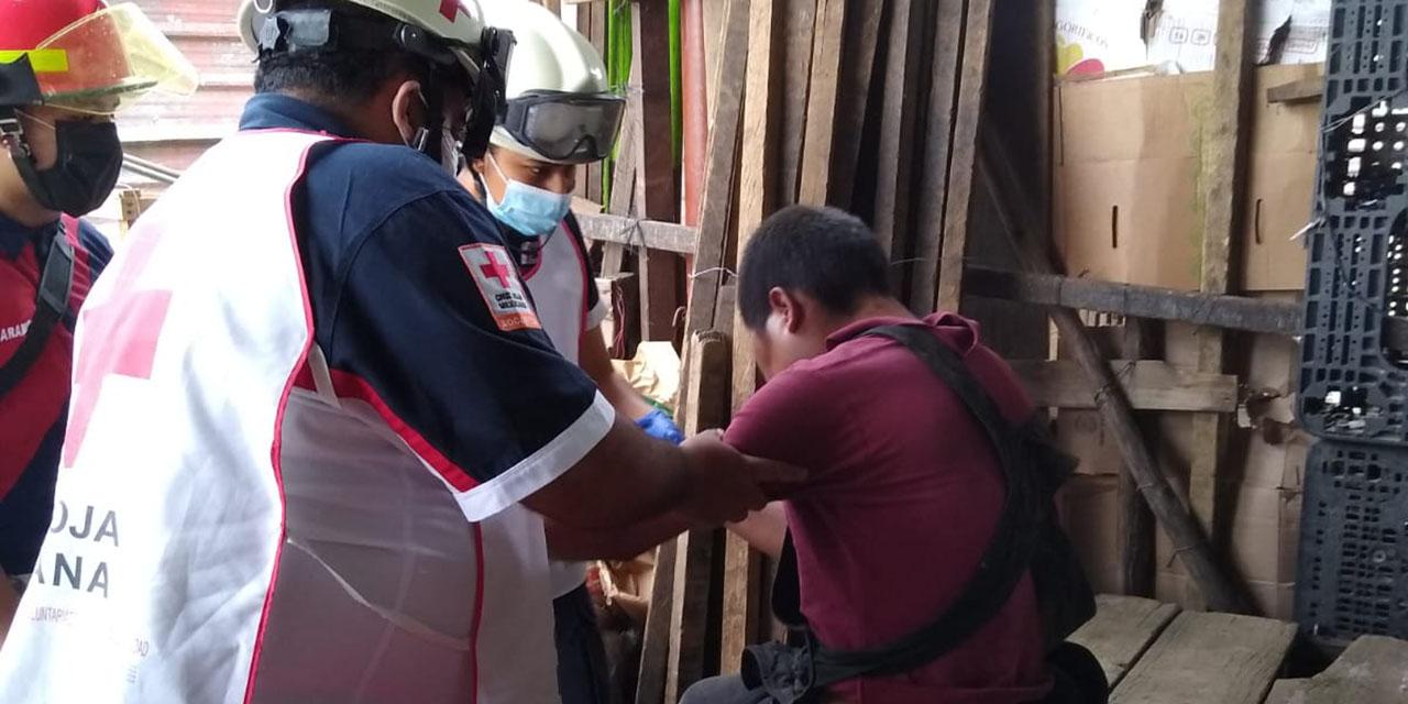 Golpeado sin piedad por taxistas en la Central de Abasto | El Imparcial de Oaxaca