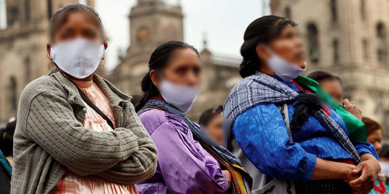 4.47% del total de contagios de Covid-19 se presentan en población indígena | El Imparcial de Oaxaca
