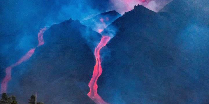 Surge nuevo río de lava en la isla de La Palma; es tan grande que causará más destrucción | El Imparcial de Oaxaca